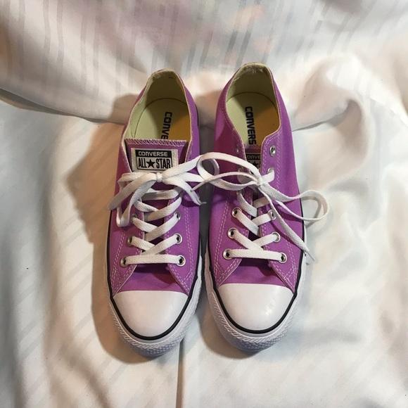 Converse Shoes   Light Purple Chuck